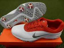 New! Nike Air Rival 4 Golf Shoes - White Red - Size 11.5 Medium 818728 101