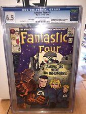 Fantastic Four 45 Cgc 6.5 First Lockjaw N Inhumans
