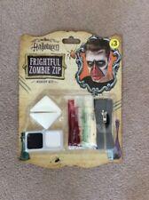 BNIB Halloween Frightful Zombie Zip Make Up Kit
