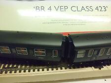 hornby br 4 VEP class 423 emu bellows corridor connectors x4 oo em p4 finescale