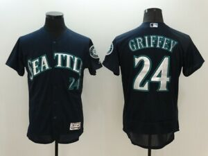 Men's Seattle Mariners Ken Griffey Jr #24 Jersey