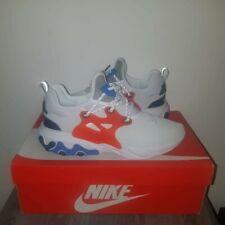 Nike React Presto White Habanero Red Obsidian US Shoe Size 10.5