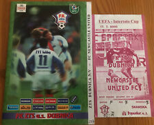 More details for 2005/06 uefa intertoto cup fk zts dubnica v newcastle united (programme & ticket