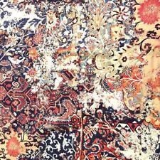 RALPH LAUREN Full Queen Duvet Cover Persian Rug Bohemian Sham Set Oriental Red