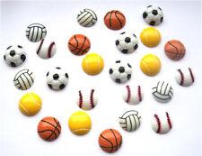25 mixte sport flatbacks-football golf rugby tennis basket + gratuit p&p