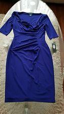Ralph Lauren royal blue dress size 2