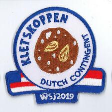 2019 World Scout Jamboree HOLLAND DUTCH SCOUTS Contingent Patch - KLETSKOPPEN
