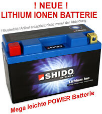 Lithium-ion ions ion batterie shido ytx4l-bs Moto Batterie Moto 12v