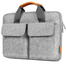13 Inch Laptop Sleeve, Carrying Briefcase, Felt Laptop Bag for MacBook A