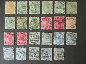 MALTA stamps QV Queen Victoria including Wmk CC MNG british colonies