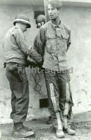 WW2 Picture Photo German soldier who committed war crimes faces fate 3322
