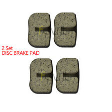 2 SET Disc Brake Pad for MOTOVOX MBX10 79CC MINI BIKE MBX-10 47CC 49CC POCKE
