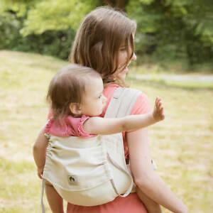 LIMAS Babytrage   Natur/Beige   Neues Modell 2018   inkl. Brustgurt   Carrier