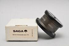 Sagadive Lens Macro Saga pro +10 Extreme Achromatic (Used Guaranteed)