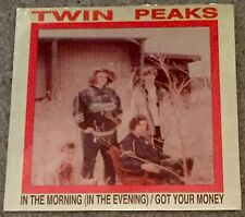 """TWIN PEAKS In the Morning 7"""" orange wax record store day 2015 2017 cage elephant"""
