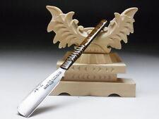 Medium Blade! Shave Ready! TAMAHAGANE SATOMURA J*apanese Straight Razor #A-270