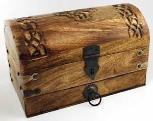 Wood Celtic Knot Treasure Chest!