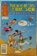 New Kids on the Block Back Stage Pass Dec Issue # 1 Harvey Rockomics NM