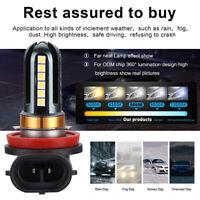 Universal 2PCS H8 H11 6500K 30W High Power LED Fog Light Lamp B