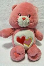 Collectible Pink Care Bears Love A Lot Bear 2003 Animated Talks & Sings Plush