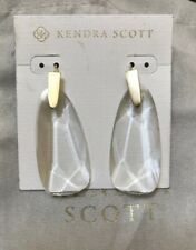 Kendra Scott Maize Clear Crystal Earrings $75.00