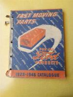 FORD CATALOG 1928 1946 FAST MOVING PARTS CAR TRUCK PARTS MOTOR CANADA