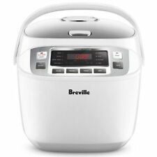 Breville LRC480WHT 10 Cups Smart Rice Box