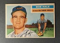 1956 Topps #231 Bob Hale Rookie Baltimore Orioles EX+