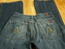 7 for all Mankind Jeans Sz 28x31 *A-pocket* Medium Wash Bootcut
