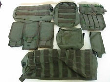 Pre-MSA Paraclete 10 piece variety package deal combo smoke green NEVER ISSUED!!