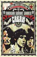 Cream - Band  Wall  Poster -  30 in x 22 in ( Fast Shipping )