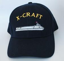 """X-CRAFT"" ""SEA FIGHTER"" One Size Fits Most Adjustable Dad Hat Baseball Cap"