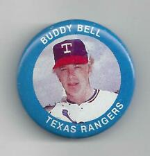 Buddy Bell 1984 Fun Food Button Pin # 76 Texas Vintage