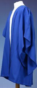 University Bachelor Graduation Gown- Royal Blue UK Bachelor-from Marston Robing