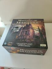 Mansions of Madness Board Game By Fantasy Flight Games (2nd) Second Edition New