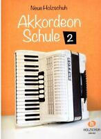 Akkordeon Noten Schule : Neue Holzschuh Akkordeon Schule Band 2 - VHR 402