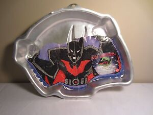 Wilton Batman Beyond DC Comics Birthday Cake Baking Pan 2105-9900 & Instructions