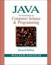 Java: An Introduction to Computer Science & Programming (2nd Edition) Savitch,