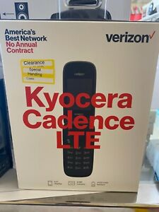 Kyocera Cadence S2720 - 16GB - Blue (Verizon) Flip Phone