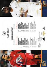 Teamsheet - Swansea City v Liverpool 2015/16