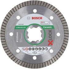Disco Diamantato per Ceramica Bosch X-LOCK diam.115 mm x 22,23 x 1,4 x 7, cod.26