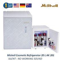 NEW Mishell Cosmetic Refrigerator 20 L AK 201 Silent Design & Smart Temp Control