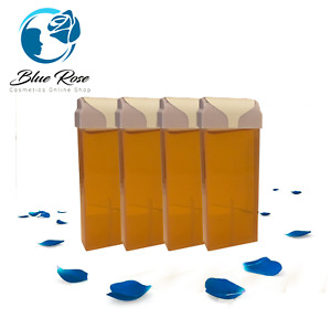 ROLL-ON Hot Wax Roller Cartridge Hair Removal Depilatory 100ml X4 Waxing Honey