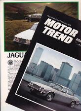 Two 1978 JAGUAR XJ6 & XJ12 SERIES II US Reprint Test Brochures Road & Track