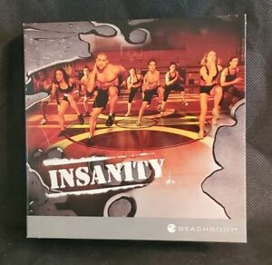 Insanity 10 DVD Disc Set Shaun T Beachbody Ultimate Cardio Workout Fitness