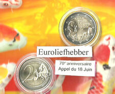 Frankrijk  2 Euro Commemorative 2010 General de Gaulle