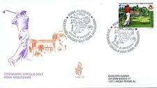 Repubblica Italiana 2003 FDC Venetia Club Circolo Golf Roma Acquasanta (E)