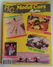 Radio Control Model Cars Mag Vtg Jan 1989 RARE VHTF Ads! Thunderdrome Agitator