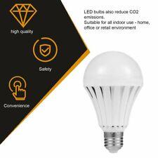 E27 Energy Saving Rechargeable Intelligent Light Bulbs Lamp Emergency Light 4PCS