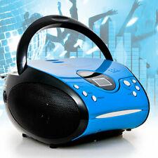 CD Player Portable Battery Operation Radio Tuner Boombox Music Stereo Plant Hifi
